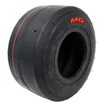 MG Red Rear Tyre