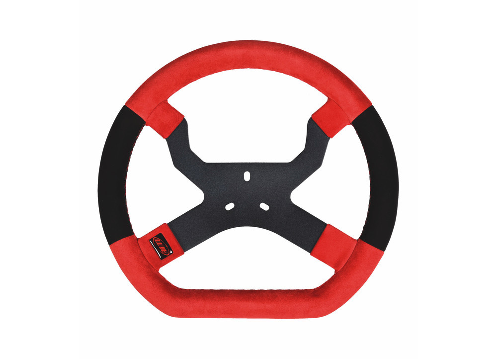 MyChron5 Kart Steering Wheel Red/Black (Standard 3 hole)