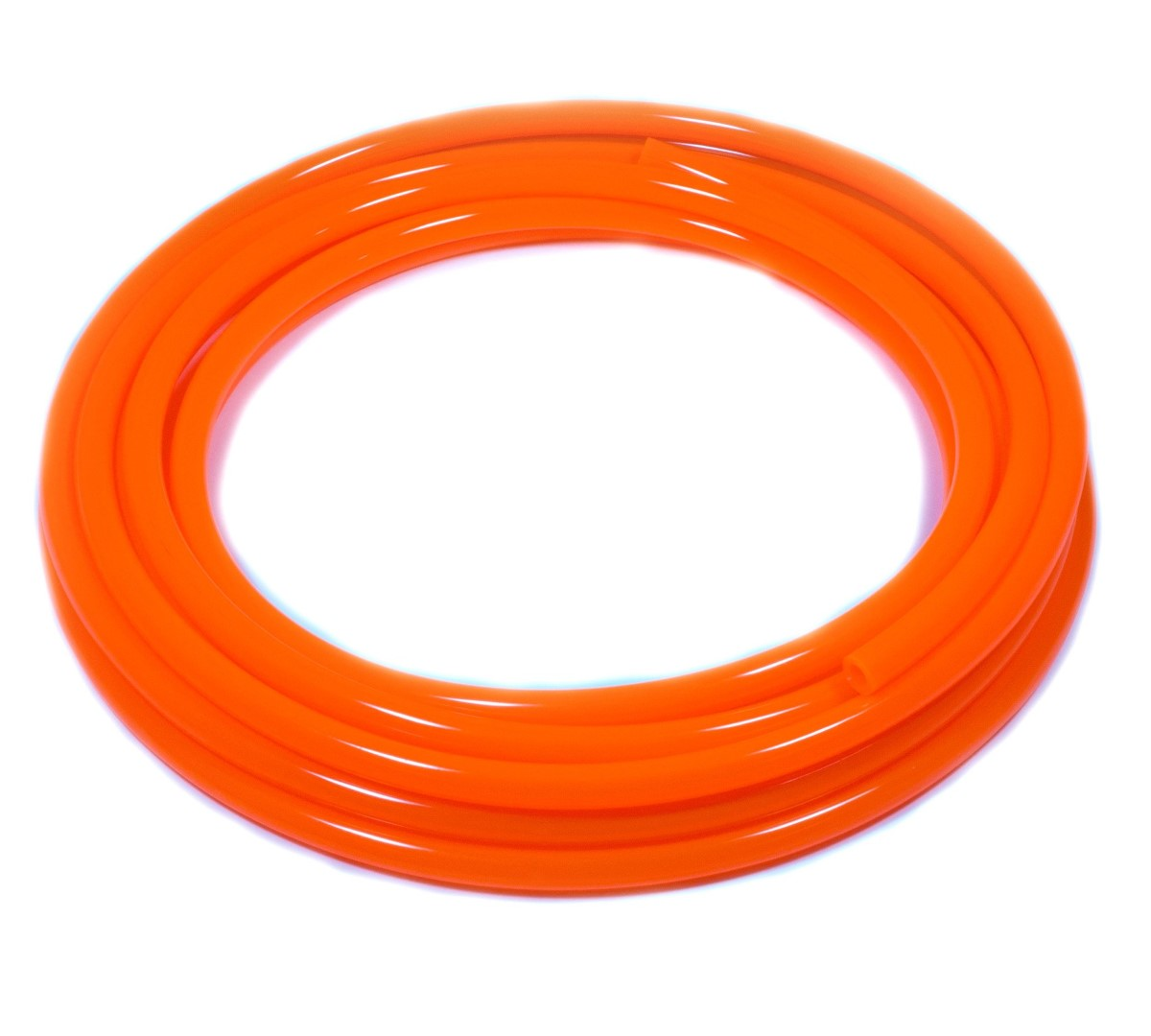 FUEL LINE - PER METRE - FLURO ORANGE