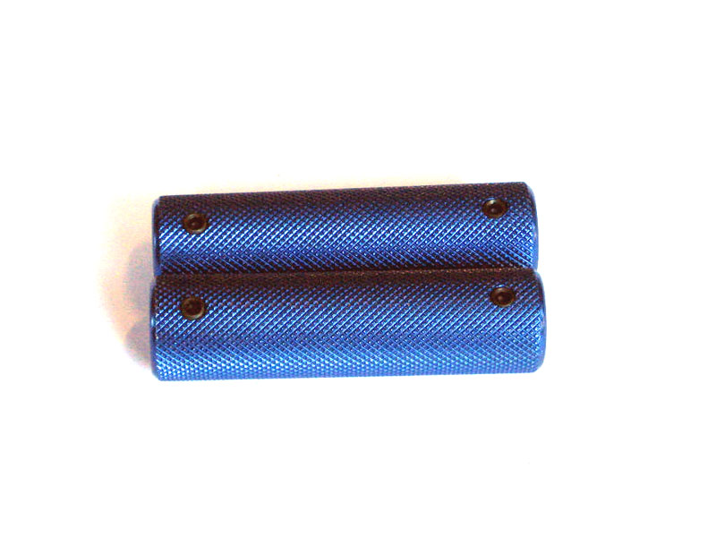 Pedal Grip (x2) Blue with grub screw