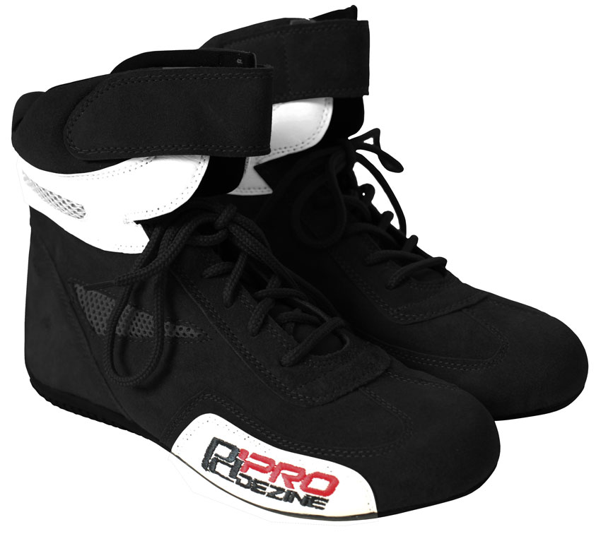Prodesign Black Kart Boot - 44