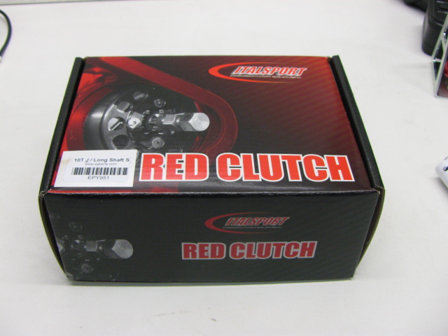 Red Clutch, short shaft - 10 tooth