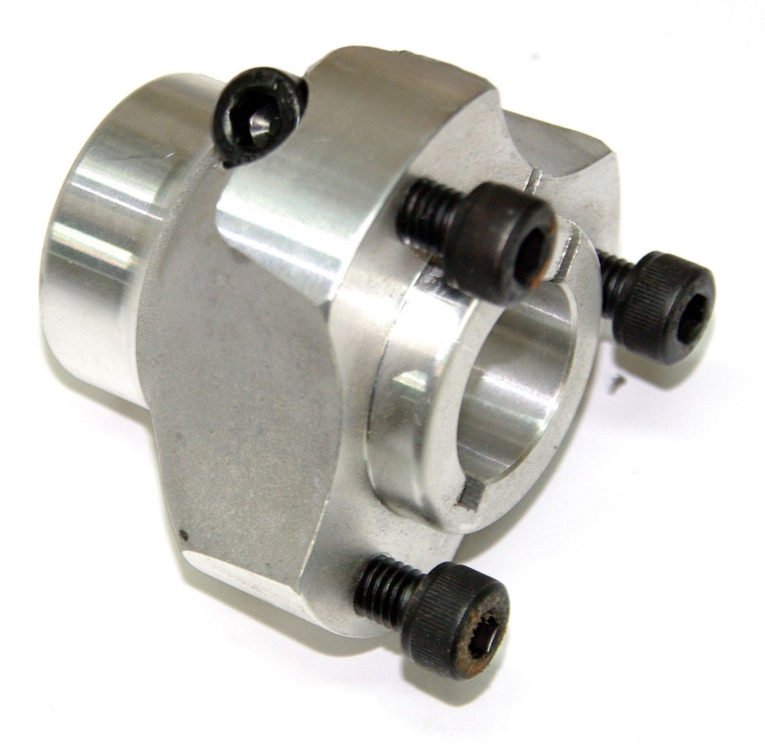 Wheel Hub 30 x 50mm Short Alloy
