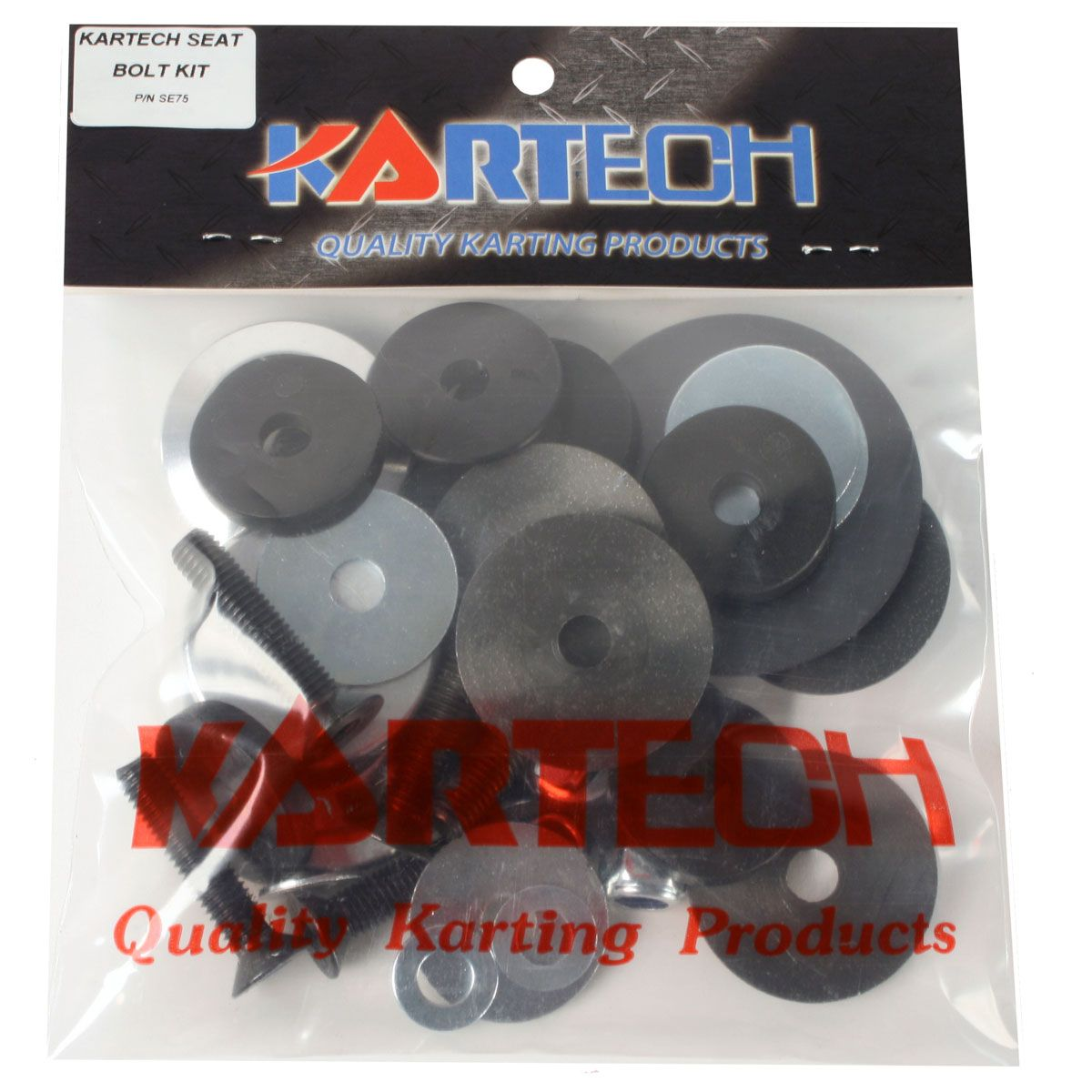 Kartech Seat Bolt Kit