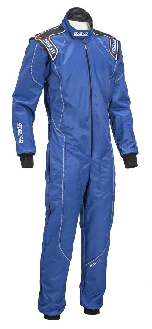 Sparco Kart Suit KS-3 Blue - 120