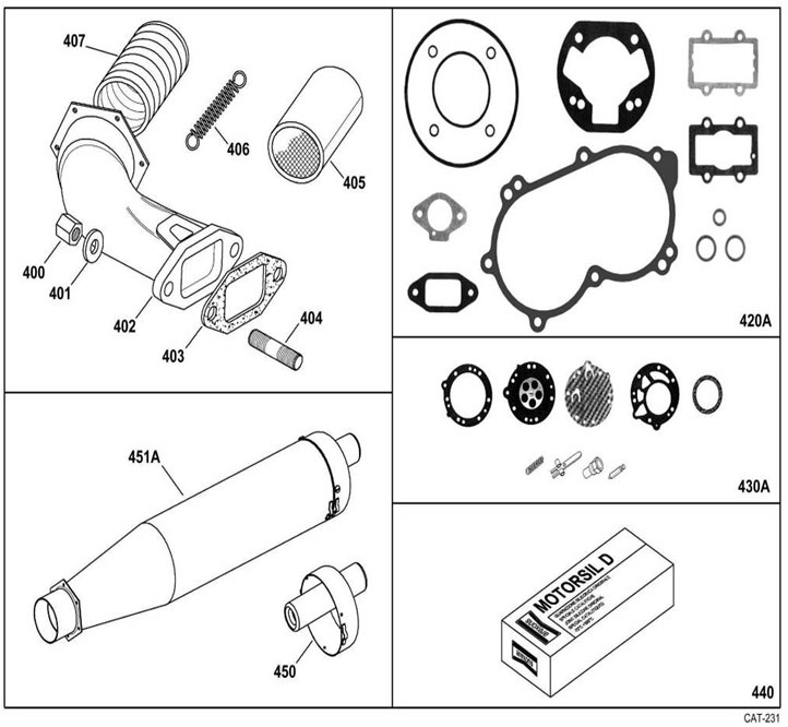 Exhaust and Gaskets