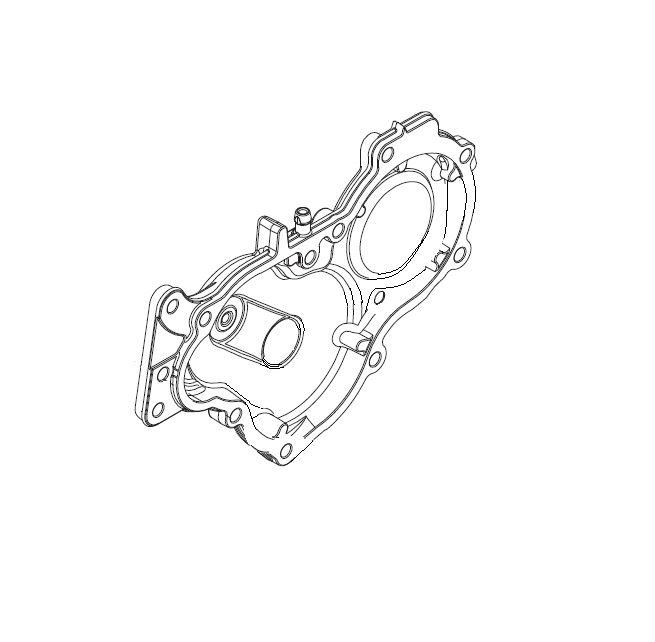 GEARBOX COVER - JNR/SNR SILVER
